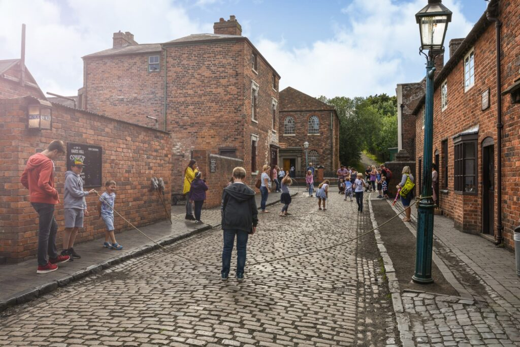 View of black country living museum