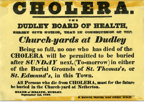 Cholera and the Dudley board of health
