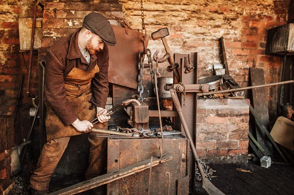 Chainmaker at Black Country Living Museum