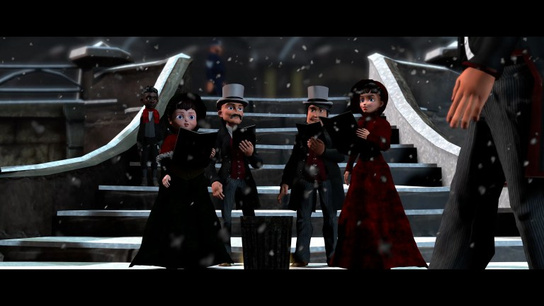 Carol singers Musical Motion Pictures