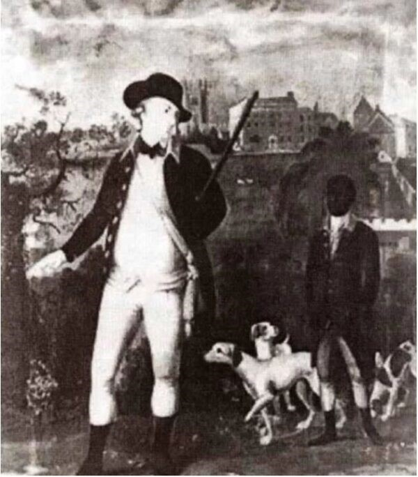 Painting of George Molineux and George Africanus