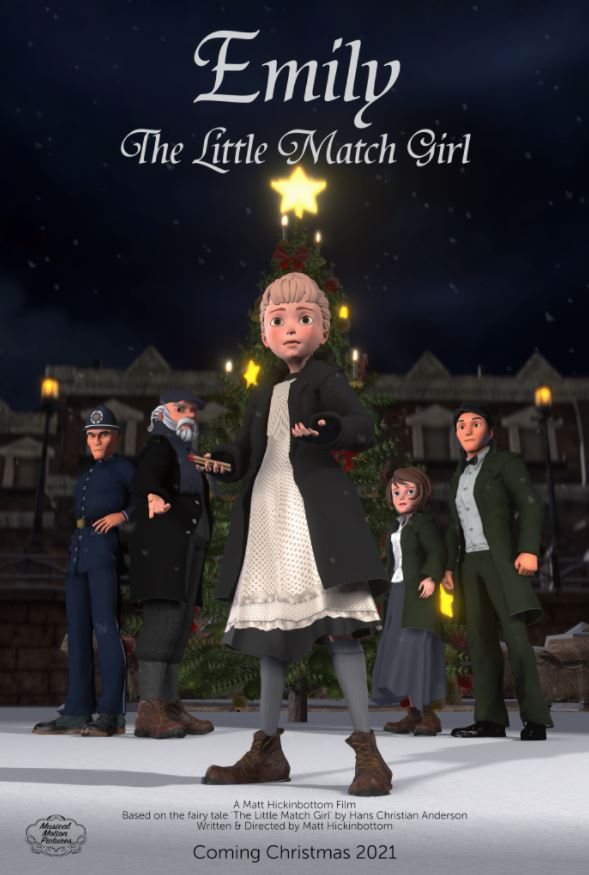 Emily the Little Match Girl animation - film poster